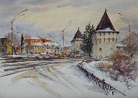 Площадь Богоявления Ярославль. Январь.04