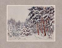 Зимний лес 01