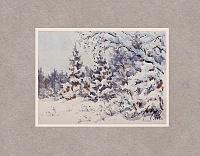 Зимний лес 03