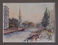 Крюков канал, Санкт-Петербург.
