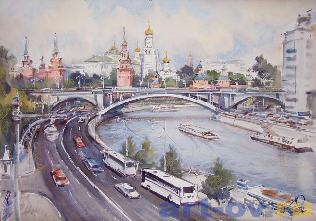 МОСКВА, Кремлевская набережная.