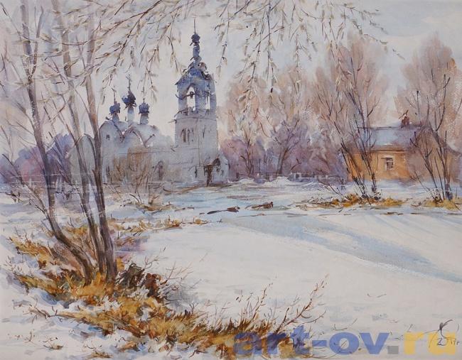 Храм Св.Николая. Курилово. Март